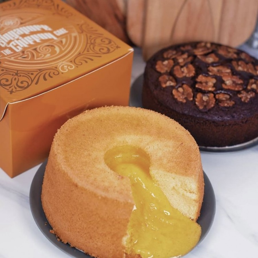Two new cakes that are inspired from local flavors